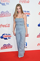 LONDON, UK. December 08, 2018: Becky Hill at Capital's Jingle Bell Ball 2018 with Coca-Cola, O2 Arena, London.<br /> Picture: Steve Vas/Featureflash