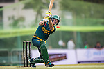 Sarel Erwee of South Africa hits a shot during Day 2 of Hong Kong Cricket World Sixes 2017 Cup final match between Pakistan vs South Africa  at Kowloon Cricket Club on 29 October 2017, in Hong Kong, China. Photo by Yu Chun Christopher Wong / Power Sport Images