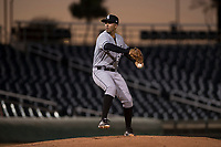 AZL White Sox relief pitcher Rigo Fernandez (31) delivers a pitch during an Arizona League game against the AZL Indians 1 at Goodyear Ballpark on June 20, 2018 in Goodyear, Arizona. AZL Indians 1 defeated AZL White Sox 8-7. (Zachary Lucy/Four Seam Images)