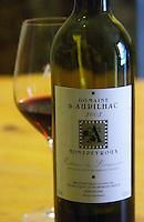 Domaine 2003, Coteaux du Languedoc. Domaine d'Aupilhac. Montpeyroux. Languedoc. France. Europe. Bottle.