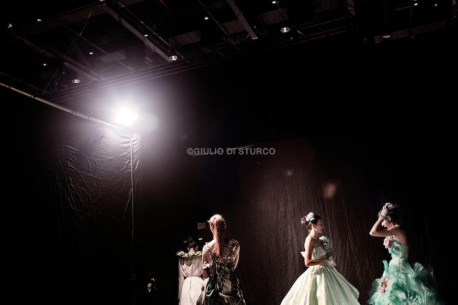 BANGKOK, THAILAND, SEPTEMBER 2012: A chapter of  fashionland project, bangkok fashion week, Thailand 2012..