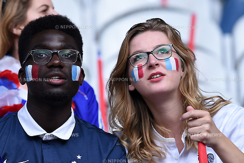 Supporters (France) ; <br /> June 19, 2016 - Football : Uefa Euro France 2016, Group A, Switzerland 0-0 France at Stade Pierre Mauroy, Lille Metropole, France. (Photo by aicfoto/AFLO)