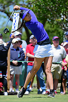 Michelle Wie (USA) watches her tee shot on 10 during round 1 of  the Volunteers of America Texas Shootout Presented by JTBC, at the Las Colinas Country Club in Irving, Texas, USA. 4/27/2017.<br /> Picture: Golffile | Ken Murray<br /> <br /> <br /> All photo usage must carry mandatory copyright credit (&copy; Golffile | Ken Murray)