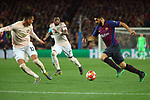 UEFA Champions League 2018/2019.<br /> Quarter-finals 2nd leg.<br /> FC Barcelona vs Manchester United: 3-0.<br /> Chris Smalling, Fred & Luis Suarez.