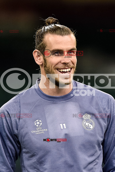 Gareth Bale of Real Madrid during the training session ahead the UEFA Champions League Final between Real Madrid and Juventus at the National Stadium of Wales, Cardiff, Wales on 2 June 2017. Photo by Giuseppe Maffia.<br /> Giuseppe Maffia/UK Sports Pics Ltd/Alterphotos /NortePhoto.com