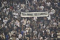 SÃO PAULO,SP,17 JULHO 2013 - FINAL RECOPA SUL-AMERICANA - CORINTHIANS x SÃO PAULO - Torcedores do Corinthians durante partida entre Corinthians X São Paulo em jogo válido pela final da Recopa no Estádio Paulo Machado de Carvalho (Pacaembu) na noite desta quara feira (17).FOTO ALE VIANNA - BRAZIL PHOTO PRESS.