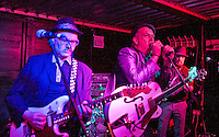 Dambusters, Wagon n Horses Yard, 3rd Mar 2012 Digbeth, Birmingham, Phil - Guitar/harmonica,  Ian - vocals/guitar, Paul - Bass/vocals,