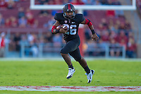 STANFORD, CA - OCTOBER 10, 2014:  Barry Sanders during Stanford's game against Washington State. The Cardinal defeated the Cougars 34-17.