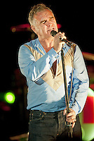 July 7, 2012- Rome, Italy: Morrissey in concert at  All'Auditorium. Credit: Scavuzzo / AGF / MediaPunch Inc. ***NO ITALY***