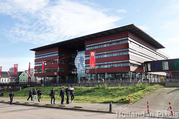 Nederland Zaandam 2018. Het Regio College.  Foto Berlinda van Dam / Hollandse Hoogte