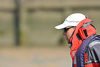 Putney, GREAT BRITAIN,  Tuesday Morning,  Cheif Coach Steve TRAPMORE. Cambridge Training Outing, Tideway week ,on the championship course. Putney/Mortlake, Tuesday   03/04/2012 [Mandatory Credit, Peter Spurrier/Intersport-images]