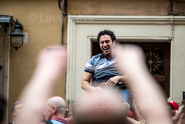 Piazza del Popolo.<br />