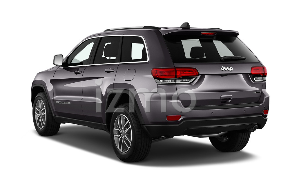Car pictures of rear three quarter view of 2019 JEEP Grand-Cherokee Laredo-E 5 Door SUV Angular Rear