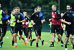 2018-06-25 / Voetbal / Seizoen 2018-2019 / Eerste training KVC Westerlo / SAVA PETROV (midden, 9)<br /> <br /> ,Foto: Mpics
