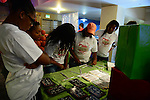 "MIAMI, FL - DECEMBER 20: Atmosphere during  Chris Bosh 5th Annual ""Christmas with Chris Bosh"" in Santa Bosh's Workshop and 200 Miami-area youth at Game Time at The Shops At Sunset Placel on Saturday, December 20, 2014 in Miami, Florida. (Photo by Johnny Louis/jlnphotography.com)"