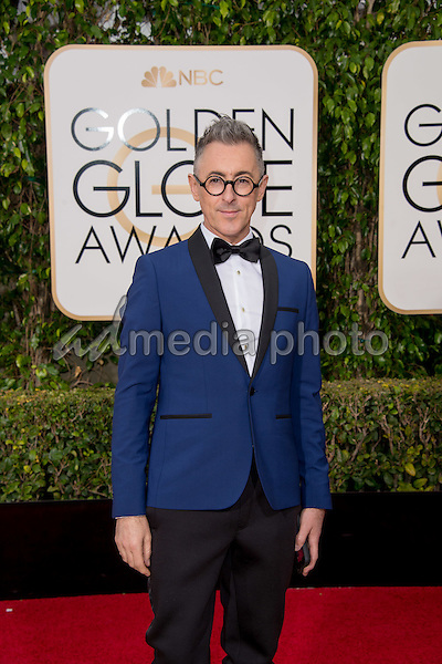 "Alan Cumming, Golden Globe nominee for BEST PERFORMANCE BY AN ACTOR IN A SUPPORTING ROLE IN A SERIES, MINI-SERIES OR MOTION PICTURE MADE FOR TELEVISION for his role in ""The Good Wife"",  arrives at the 73rd Annual Golden Globe Awards at the Beverly Hilton in Beverly Hills, CA on Sunday, January 10, 2016. Photo Credit: HFPA/AdMedia"