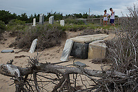 Scenes at the OBX, including The Midget Salvo Cemetery and Buxton in Buxton, NC on Wednesday, June 21, 2017. (Justin Cook)