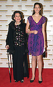 "Kitty Carlisle Hart and Kate Stoeckle arrive at the Harry S. Truman Building (Department of State) in Washington, D.C. on December 4, 2004 for a dinner hosted by United States Secretary of State Colin Powell.  At the dinner six performing arts legends will receive the Kennedy Center Honors of 2004.  This is the 27th year that the honors have been bestowed on ""extraordinary individuals whose unique and abundant artistry has contributed significantly to the cultural life of our nation and the world"" said John F. Kennedy Center for the Performing Arts Chairman Stephen A. Schwarzman.  The award recipients are: actor, director, producer, and writer Warren Beatty; husband-and-wife actors, writers and producers Ossie Davis and Ruby Dee; singer and composer Elton John; soprano Joan Sutherland; and composer and conductor John Williams.<br /> Credit: Ron Sachs / CNP"