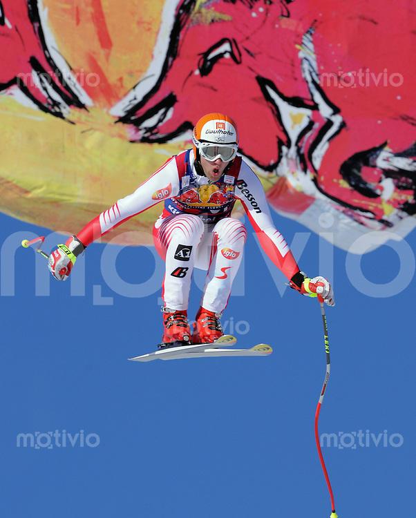 Ski Alpin;  Saison 2008/2009  24.01.2009 69. Hahnenkamm Rennen  Abfahrt    Romed Baumann (AUT) FOTO : Pressefoto ULMER/Markus Ulmer xxxPUBLICATIONxNOTxINxSUIxxx