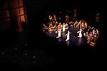 """Gamelan Çudamani performs.""""Bamboo to Bronze"""" at UC Davis' Mondavi Center, October 24, 2010."""