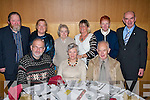 CITIZENS: ballyduff senior citizens who had their Christmas party in Ballyroe Heights, Tralee on Sunday. Seated l-r: Bob and May Scott and Bernard Guerin. Back l-r: Patrick O'Carroll, Helen casey, Phil O'Carroll, Sheila O'carroll, Celine Jones, Kathleen Jones and Richard casey........   Copyright Kerry's Eye 2008