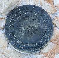 USGS marker, Mt. Belford