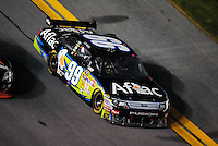 Feb 07, 2009; Daytona Beach, FL, USA; NASCAR Sprint Cup Series driver Carl Edwards during the Bud Shootout at Daytona International Speedway. Mandatory Credit: Mark J. Rebilas-