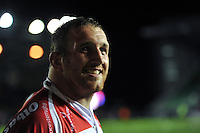 Yann Thomas of Gloucester Rugby looks on after the match. European Rugby Challenge Cup Final, between Edinburgh Rugby and Gloucester Rugby on May 1, 2015 at the Twickenham Stoop in London, England. Photo by: Patrick Khachfe / Onside Images