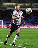 Bolton Wanderers' Gary O'Neil breaks <br /> <br /> Photographer Andrew Kearns/CameraSport<br /> <br /> The EFL Sky Bet Championship - Bolton Wanderers v Sheffield Wednesday - Tuesday 12th March 2019 - University of Bolton Stadium - Bolton<br /> <br /> World Copyright © 2019 CameraSport. All rights reserved. 43 Linden Ave. Countesthorpe. Leicester. England. LE8 5PG - Tel: +44 (0) 116 277 4147 - admin@camerasport.com - www.camerasport.com