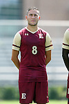 28 August 2016: Elon's Amir Berkane (ENG). The Elon University Phoenix played the University of San Diego Toreros at Koskinen Stadium in Durham, North Carolina in a 2016 NCAA Division I Men's Soccer match. USD won the game 2-1.