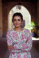 2003: Arundhati Roy ( writer )  © Leonardo Cendamo
