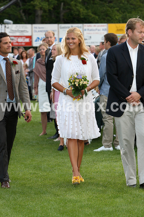 **ALL ROUND PICTURES FROM SOLARPIX.COM**.**SYNDICATION RIGHTS FOR UK AND SPAIN ONLY**.Crown Princess Victoria of Sweden celebrates her 32nd birthday with fiance Daniel Westling and parents Queen Silvia and King Carl Gustaf of Sweden at Solliden Palace on the island of Oeland, southern Sweden. 14 July 2009...This pic: Madeleine of Sweden..JOB REF: 9494 CPR (Kongsted) DATE: 14_07_2009.**MUST CREDIT SOLARPIX.COM OR DOUBLE FEE WILL BE CHARGED**.**ONLINE USAGE FEE GBP 50.00 PER PICTURE - NOTIFICATION OF USAGE TO PHOTO @ SOLARPIX.COM**.**CALL SOLARPIX : +34 952 811 768 or LOW RATE FROM UK 0844 617 7637**