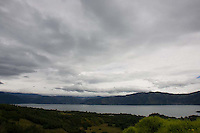 Lake Atitlán near Santiago Atitlán, Guatemala on Tuesday, Nov. 1, 2005.