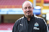 Newcastle Manager Rafa Benitez during the pre season friendly match between Bradford City and Newcastle United at the Northern Commercial Stadium, Bradford, England on 26 July 2017. Photo by Thomas Gadd.