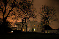 The White House at Dawn following end of Impeachment Trial