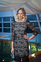 Federica Pellegrini in dress evening for his presentation at P&G how testimonial, on March 05, 2014. Photo: Adamo Di Loreto/BuenaVista*photo