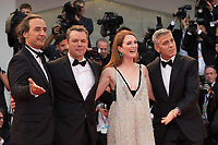 "George Clooney, Julianne Moore, Matt Damon, Alexandre Desplat at the ""Suburbicon"" premiere, 74th Venice Film Festival in Italy on 2 September 2017.<br /> <br /> Photo: Kristina Afanasyeva/Featureflash/SilverHub<br /> 0208 004 5359<br /> sales@silverhubmedia.com"