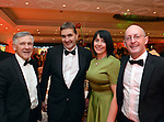 Joe Scally, The Malton Hotel, Former Kerry footballer Maurice Fitzgerald, The Sea Lodge Hotel, Waterville, pictured at the annual Kerry Hoteliers Ball in The Muckross Park Hotel at the weekend. <br /> Photo: Don MacMonagle<br /> <br /> Repro free photo