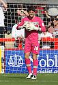 Chris Day of Stevenage. Stevenage v Crewe Alexandra - npower League 1 -  Lamex Stadium, Stevenage - 15th September, 2012. © Kevin Coleman 2012.