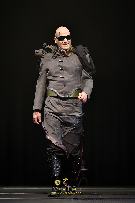 The Oversew Fashion Awards at Carterton Events Centre, Carterton, New Zealand on Sunday 24 May 2015.<br /> Photo by Masanori Udagawa. <br /> www.photowellington.photoshelter.com.