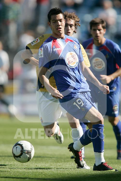 Getafe's Miku during La Liga match. April 04, 2010. (ALTERPHOTOS/Alvaro Hernandez)