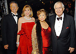 From left: Philip Bahr and Denise Bush Bahr with Olga Bush and Gerald Bush at the Houston Grand Opera's Opening Night dinner Friday Oct. 23,2009. (Dave Rossman/For the Chronicle)