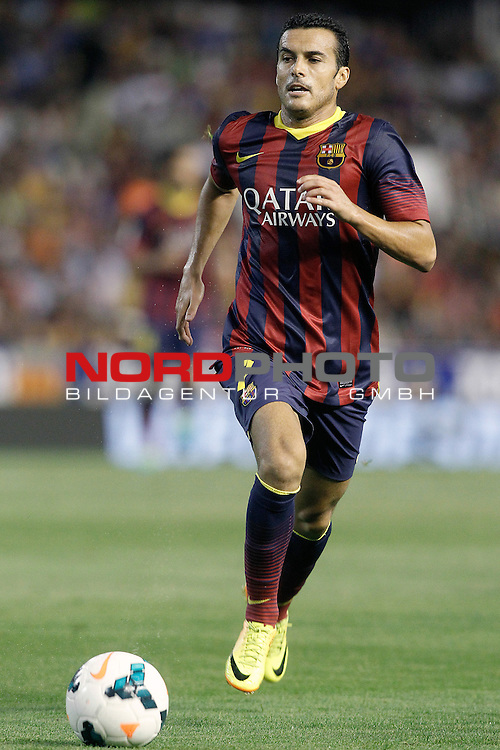 FC Barcelona's Pedro Rodriguez during La Liga match.September 1,2013. Foto © nph / Acero)