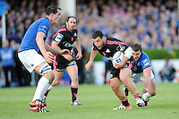 Rabah Slimani of Stade Francais in action during the Amlin Challenge Cup Final between Leinster Rugby and Stade Francais at the RDS Arena, Dublin on Friday 17th May 2013 (Photo by Rob Munro).