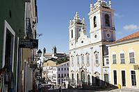 SALVADOR, BA, 23.03.2013 - PELOURINHO-BA - Imagem de arquivo da Igreja Rosário dos Presto no Pelourinho, Centro Histórico de Salvador - BA (Foto: Joá Souza / Brazil Photo Press).