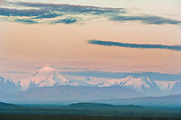 Mount Hayes, Geist and Skarland, Alaska Range mountains, Tanana river, near Delta Junction, Alaska
