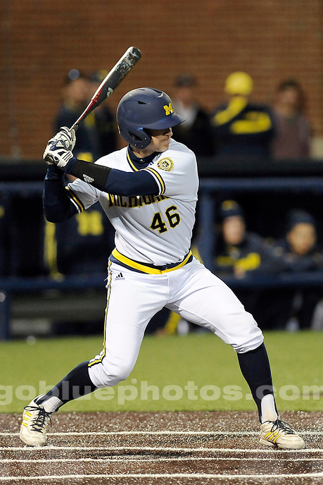 Michigan baseball loses to Nebraska, 6-4, Friday night, April 25, 2014, at Ray Fisher Stadium in the Wilpon Baseball/Softball Complex.