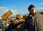 Pat, a Distington resident at a nearby landfill site.<br />