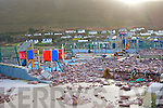 the demolished playground at Rossbeigh on Monday