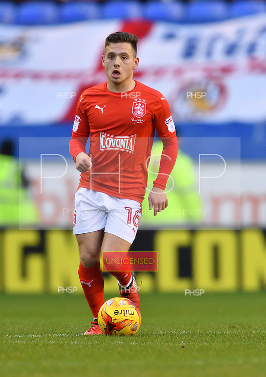 02/01/2017 Sky Bet Championship Wigan Athletic v <br /> Huddersfield Town<br /> <br /> Jack Payne, Huddersfield Town FC